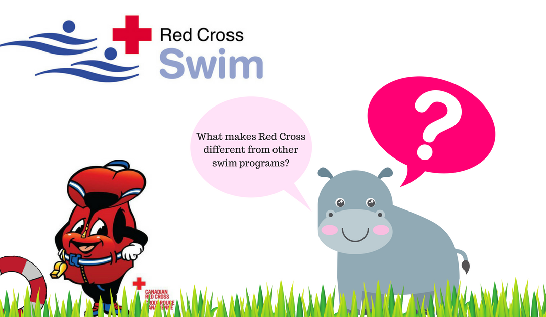 Why Choose the Red Cross Swim Program?