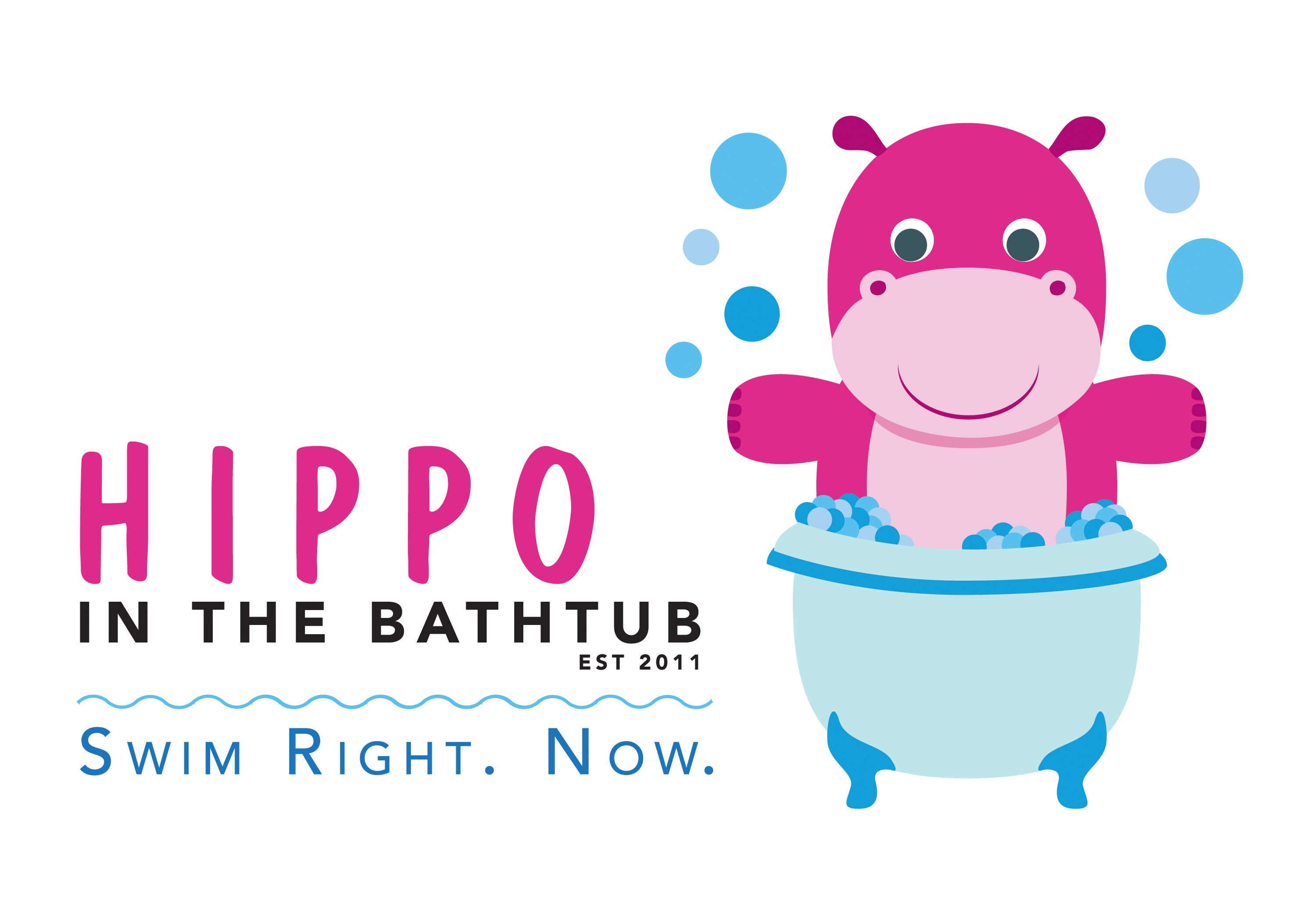Hippo In The Bathtub