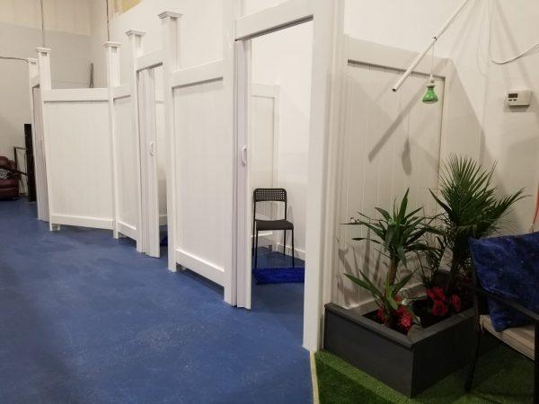 Trainyards Indoor Changerooms
