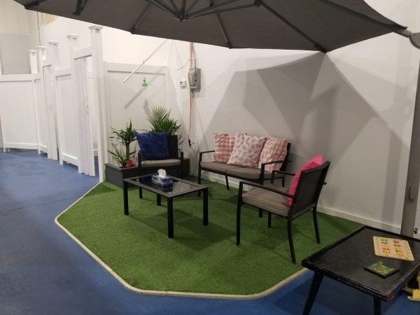 Trainyards Indoor Oasis Lounge