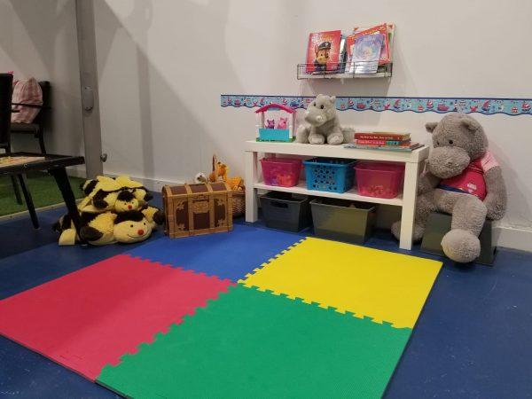 Trainyards Indoor Hippo Play Area